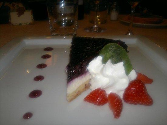 Trattoria Altavilla: Cheesecake