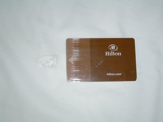 Hilton Sydney: This was the sheet the Hilton replaced it with...