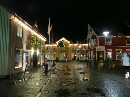 CenterHotel Plaza: Street outside the hotel