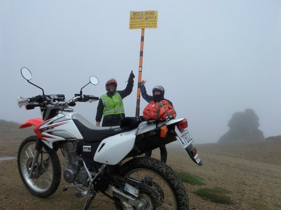 Central Otago Motorcycle Tours : summit