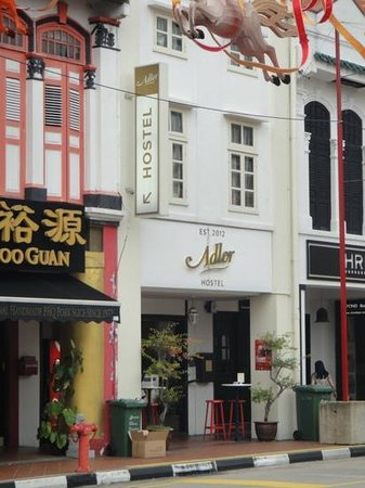 Adler Hostel: streetview