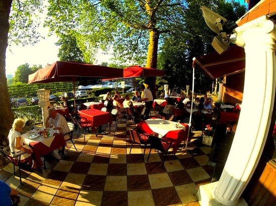 Zorba Restaurant Leuven: zorba terrace