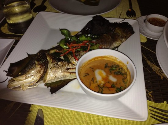 The Farmer Restaurant and Bar: grilled snow fish