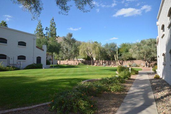 Scottsdale Camelback Resort: Beautiful hotel grounds