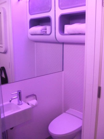 YOTELAIR London Heathrow Airport: cabin view