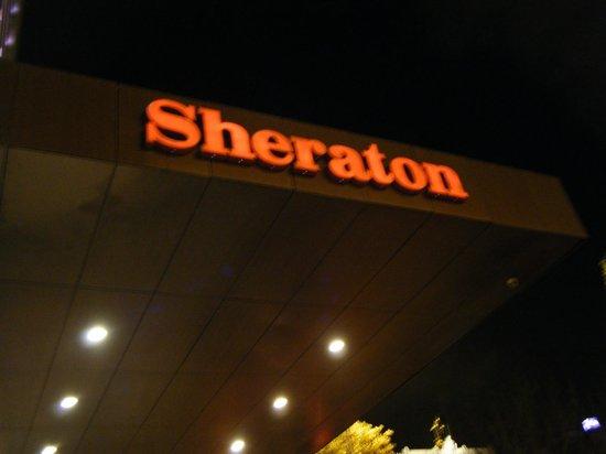 Sheraton Lisboa Hotel & Spa: enseigne