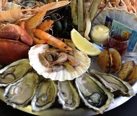 Amarine Arras : Hummm les plateaux de fruits de mer !