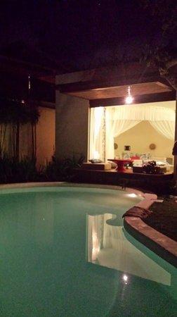 Kiss Bali: Villa Surga pool/garden area