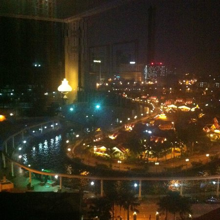 The Majestic Malacca: Night view from the 9th floor