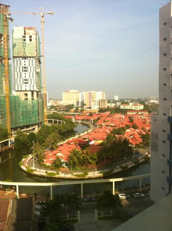 The Majestic Malacca: Daytime view from 9th floor