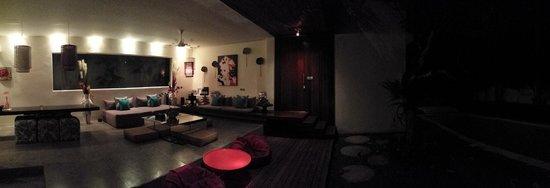 Kiss Bali: Villa Cium living area