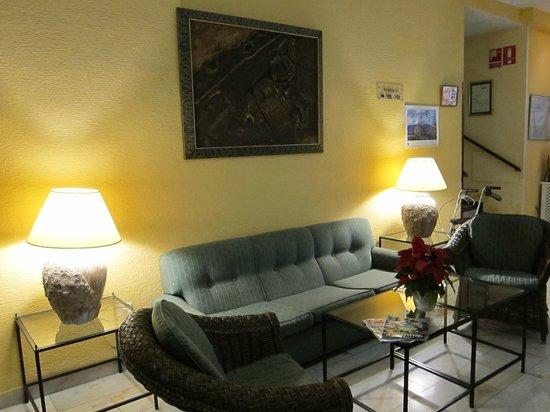 Teide Mar Apartments: Лобби