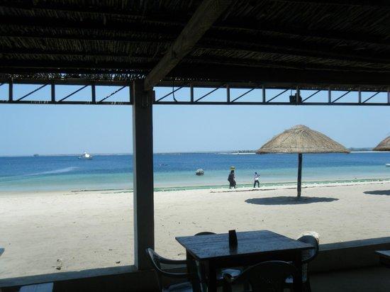 O Barqueiro Beach Bar: View from the Beach Bar