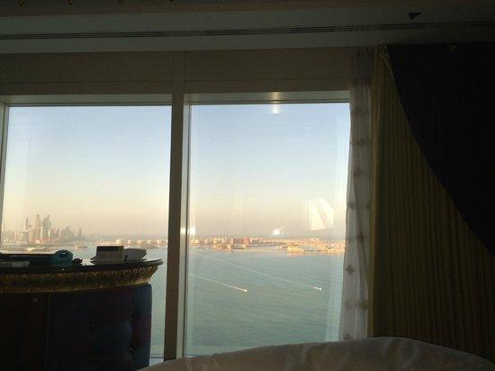 Burj Al Arab Jumeirah: View from bedroom