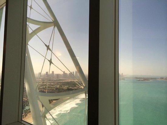 Burj Al Arab Jumeirah: View from room