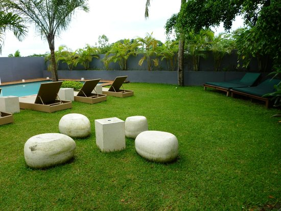 Coconut Palms Resort : Pool & Lawns