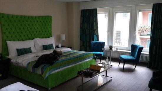 Hotel Wellenberg: номер