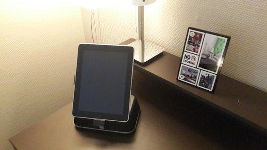 Hotel Wellenberg: планшетник для забывчивых туристов)