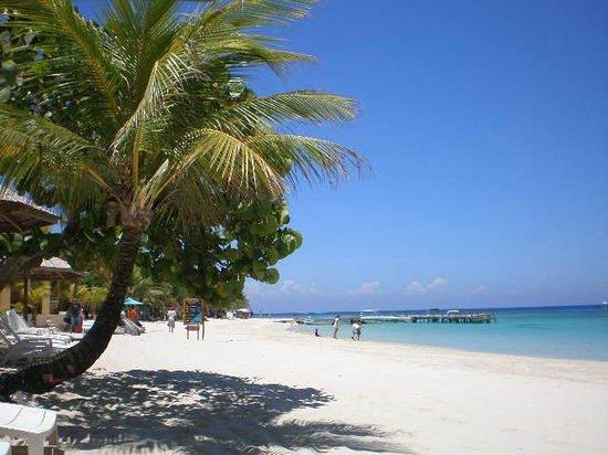 Sea Breeze Inn: Mit dem Taxi-Boot erreicht man schnell West Bay
