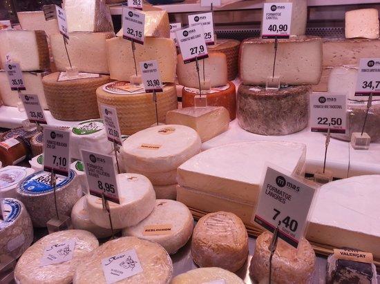 St. Josep La Boqueria : Cheese