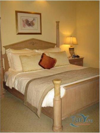 Le Royal Meridien Beach Resort & Spa: Кровать в нашем номера