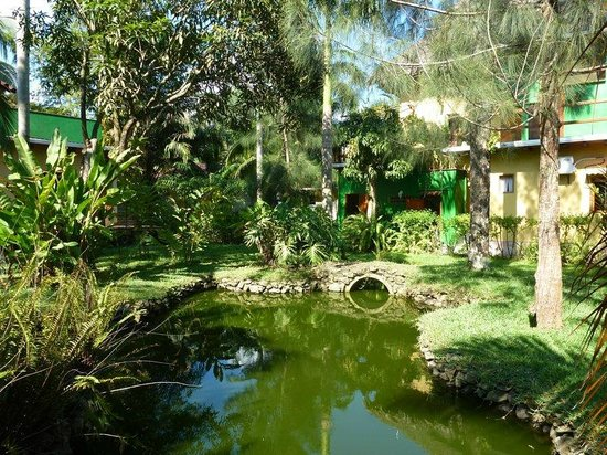 Vecchia Toscana Resort: Garden and pond