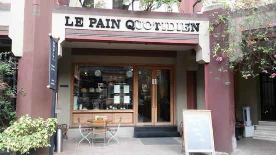 Le Pain Quotidien: la devanture