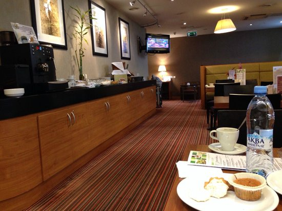 Holiday Inn Moscow Suschevsky: Executive Lounge на 13ом этаже