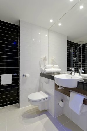 Holiday Inn Express The Hague - Parliament: Bathroom with shower