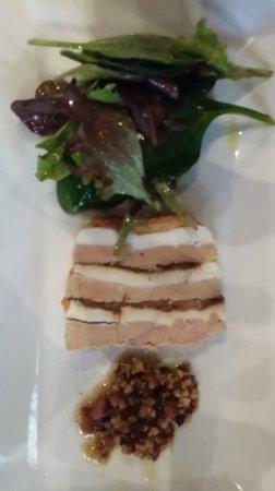 L'Ardoise : terrine foie gras et chèvre