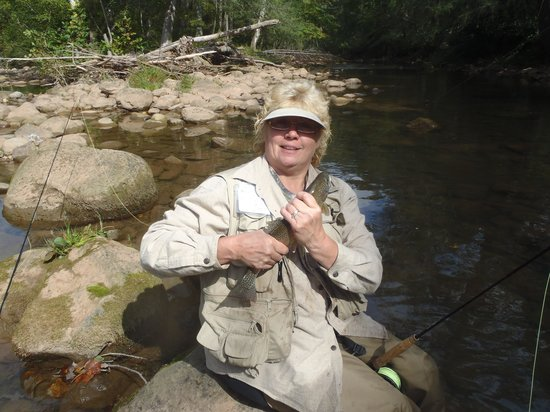 I had a good day catching fish picture of elk springs for Elk river wv trout fishing