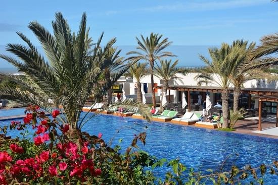 Sofitel Essaouira Mogador Golf & Spa: vue sur la piscine