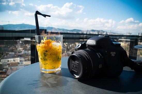 Barcelo Raval: rooftop bar