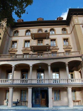 Guesthouse & Hôtel Le Cervin : Façade entrée