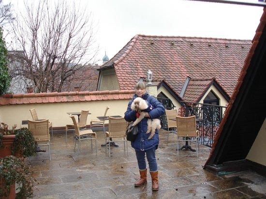 Schlossberg Hotel: terrace