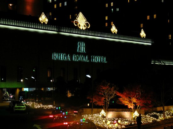 RIHGA Royal Hotel Osaka: 正面の外観