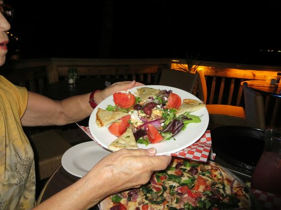 Anglins Fishing Pier: Greek Salad
