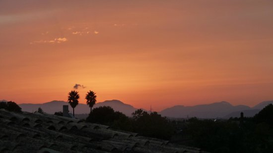 Sa Torre de Santa Eugenia : Sa Torre sunset view