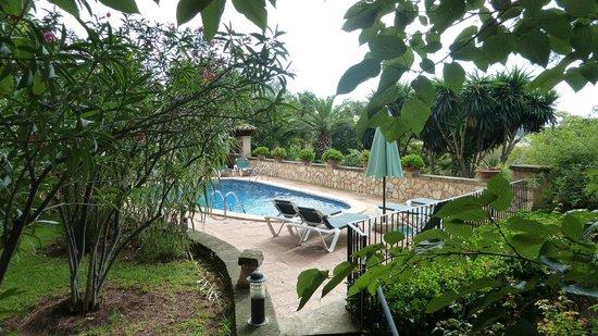 Sa Torre de Santa Eugenia: One of Sa Torre's 2 x pools