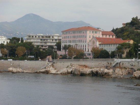 Le Saint Paul: Front of Maison du Seminaire from Cap du Nice