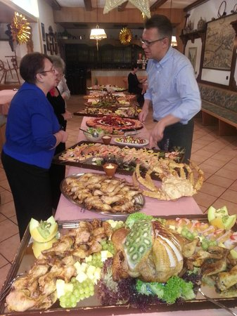 Wagner Hotel & Pensionshaus: Buffet on New Years Eve