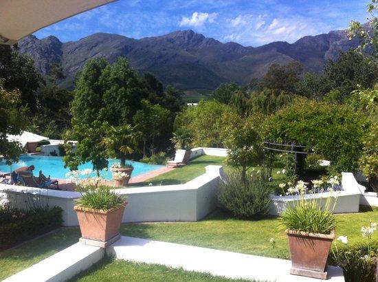 Franschhoek Manor: View