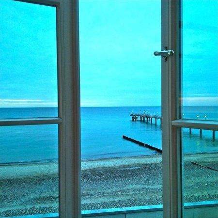 Grand Hotel Heiligendamm: Wunderschöne Aussicht direkt auf die See