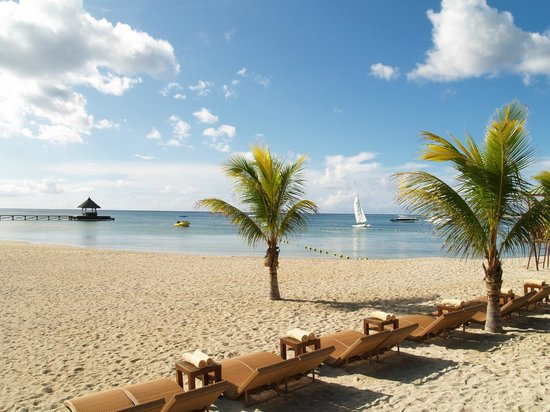 Club Med La Plantation d'Albion: La plage