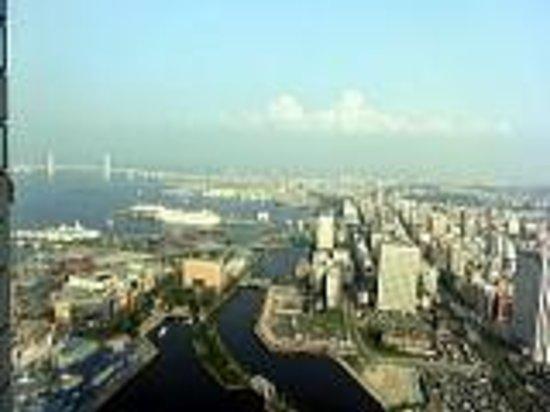 Yokohama Royal Park Hotel: 眺め