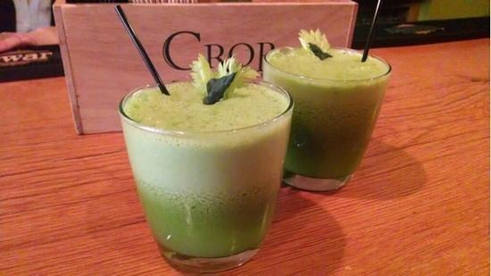 Sweet Grass Grill: fresh pressed juice
