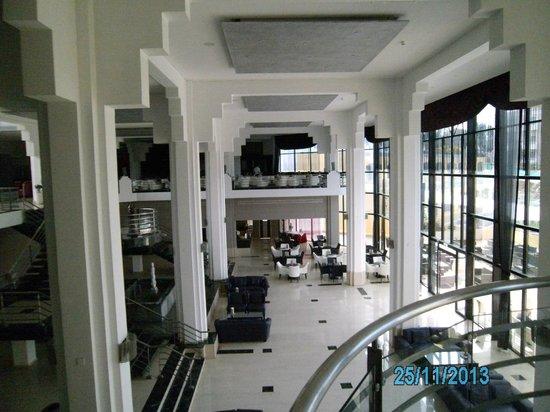 Hotel St. George: Innenhalle