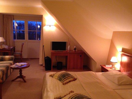 Strandhotel Deichgraf: Zimmer 22, DZ, Seeseite