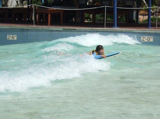 Onward Beach Resort: ボディボードに挑戦