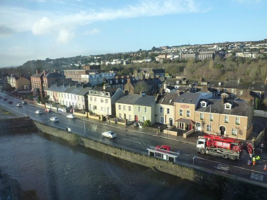 The River Lee : View from rooms floor to ceiling window